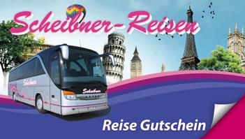Scheibner Reisen Gutschein